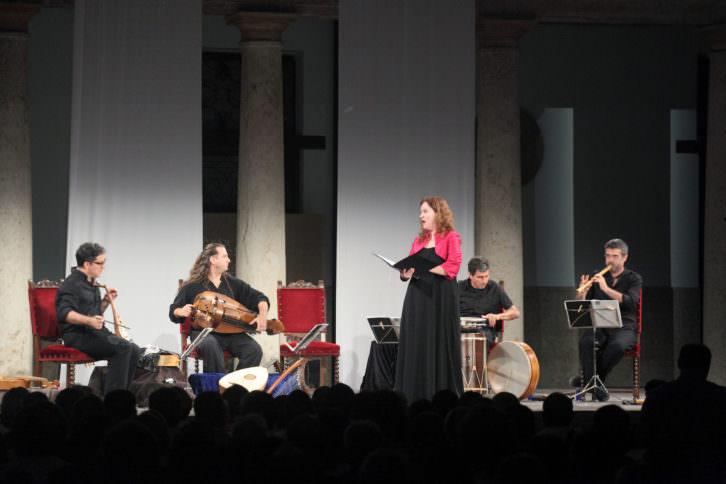 Capella de Ministrers en Serenates 2013. Imagen cortesía de La Nau de la Universitat de València.