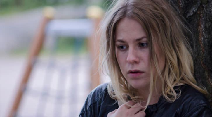 Emmi Parviainen en un fotograma de 'Silmäterä', de Jan Forsström. Cinema Jove.