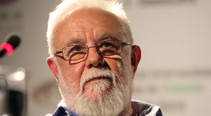 El director de cine Gonzalo Suárez. Imagen cortesía del Festival Internacional de Cine de Valencia - Cinema Jove.