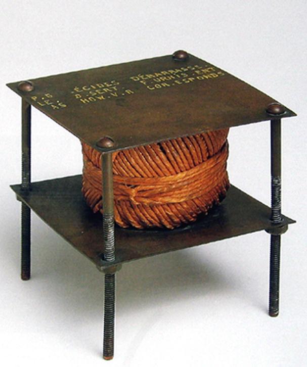 Un ruido secreto, de Marcel Duchamp. Imagen cortesía José Emilio Antón