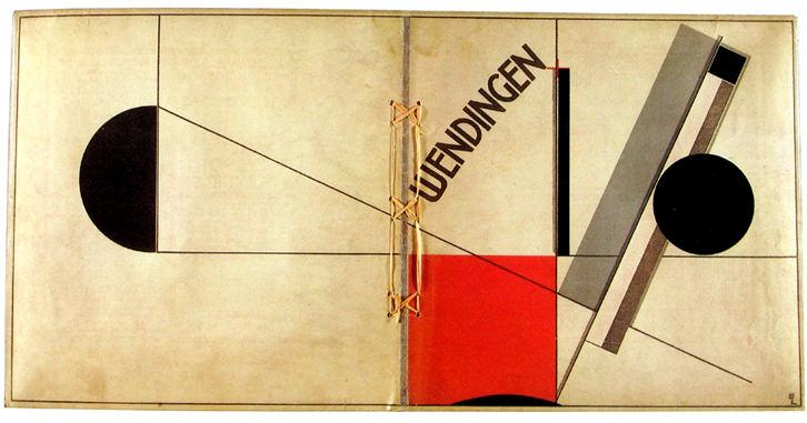 Wendingen, de El Lissitzky. Imagen cortesía José Emilio Antón