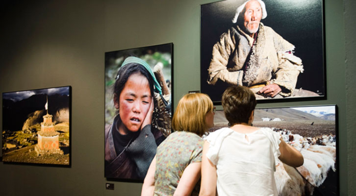 Exposición 'Himalaya' en el Museo de la Beneficència. Imagen cortesía de la Diputación de Valencia.