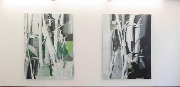 Obra de Álex Marco en la XVI Call 2014. Imagen cortesía de la galería Luis Adelantado.