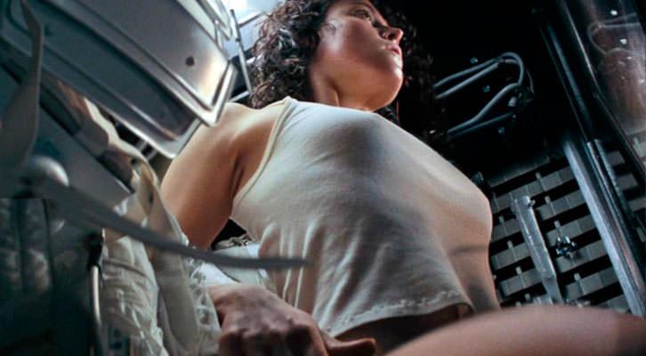 Fotograma de 'Alien, el octavo pasajero', de Ridley Scott. Nits de cinema al claustre de La Nau.