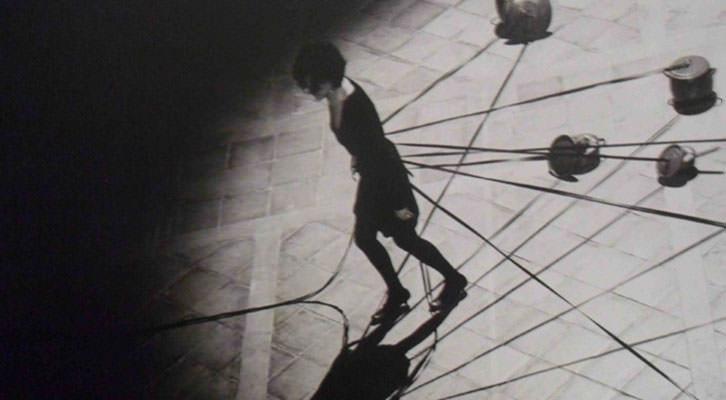 Fotografía de Ana Gesto en la exposición 'Mujeres: territorios artísticos de resistencia', en La Nau de la Universitat de València.