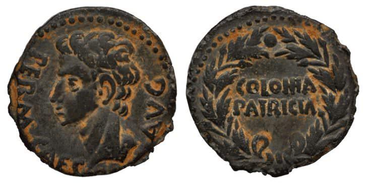Monedas de la exposición 'Historias en miniatura. Nuestras primeras monedas',  en el Museo de Prehistoria de Valencia. Imagen cortesía del museo.