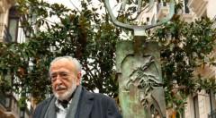 El escultor vasco Néstor Basterretxea, en una imagen de rtve.es.