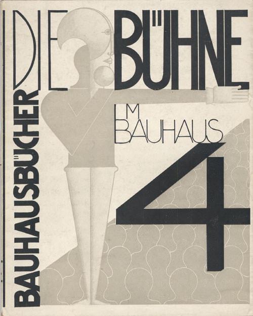 El ejemplar 4 de Bauhausbücher, editado por la Bauhaus. Imagen cortesía José Emilio Antón