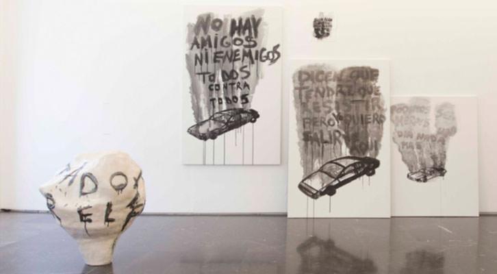 Obra de Pablo Bellot en la XVI edición Call 2014. Imagen cortesía de la galería Luis Adelantado.