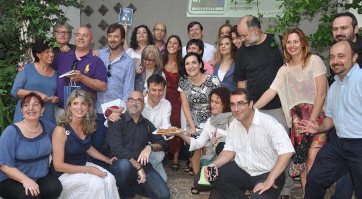 Artistas valencianos del colectivo El Cuaderno Rojo. Imagen cortesía de la agrupación.