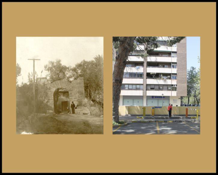 Fotografías de Andrés Giménez y Ángel Martínez en 'La Valencia desaparecida'. Imagen cortesía de Librería Railowsky.
