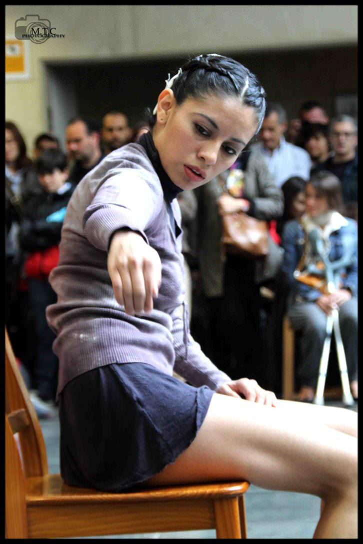 Imagen del Día Internacional de la Danza 2013 en el MuVIM. Fotografía: María Tornero.