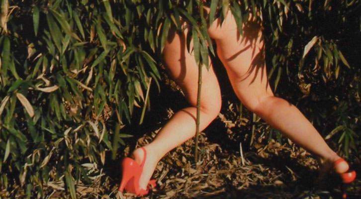 Fotografía de Diana Coca en la exposición de La Nau.