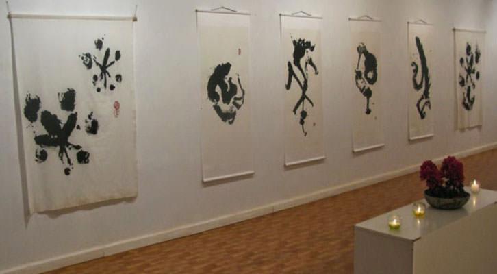 Obras de Kenryo Hara en la Galería O+O. Imagen cortesía de O+O