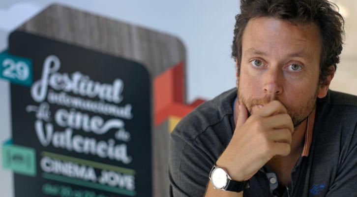 El director belga Joachim Lafosse, Premio Especial Luna de Valencia de la 29ª edición del Festival Internacional de Cine de Valencia. Imagen cortesía de Cinema Jove.