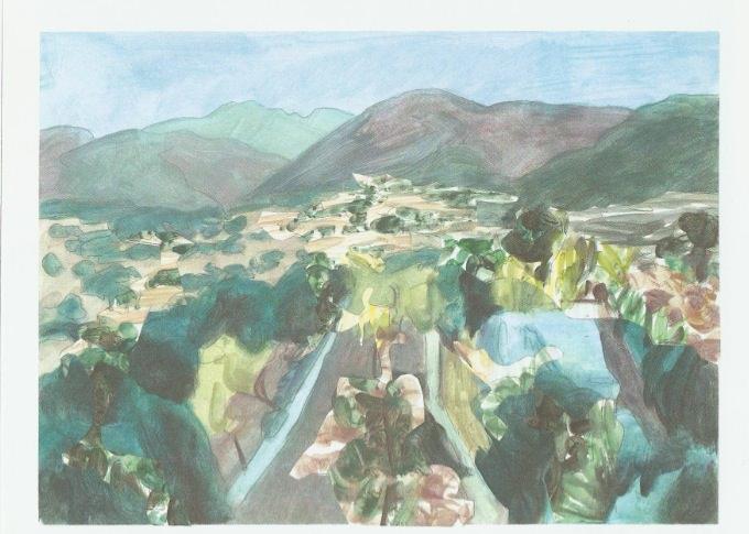 Obra de Lola Mas Hernández. Imagen cortesía de Galería del Palau.