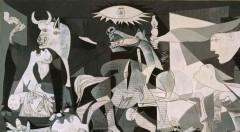 Detalle de la obra 'Guernica', de Pablo Picasso.
