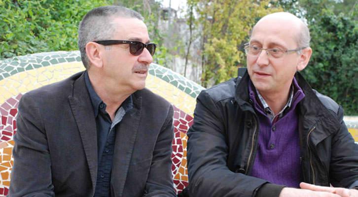 Pedro Uris (izquierda) y Daniel Ramón, autores de 'Maná', Editorial Cariena. Imagen cortesía de los autores.