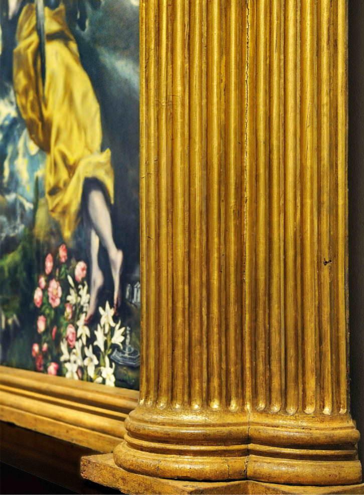 Joaquín Bérchez. Retablo de la Capilla Ovalle, Toledo. Imagen cortesía del autor.
