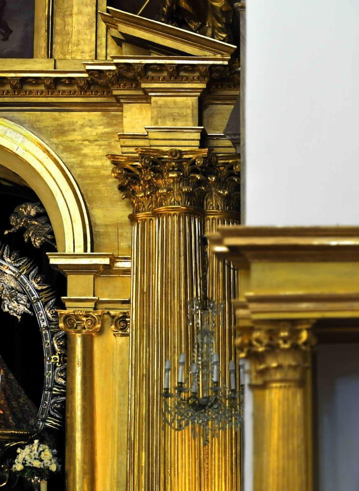 Joaquín Bérchez. Retablo mayor del templo del Hospital de la Caridad de Illescas. Imagen cortesía del autor.