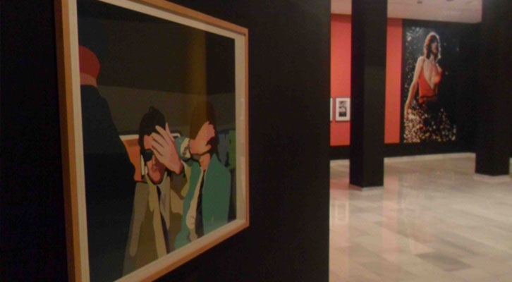 Una de las obras de la exposición 'Sympathy for the Stones'. Centro Cultural Bancaja.