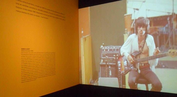 Imagen de uno de los videos de la exposición 'Sympathy for the Stones'. Centro Cultural Bancaja.
