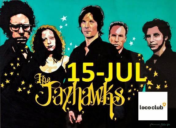 THE JAYHAWKS -  CARTEL DEL CONCIERTO en EL  LOCO