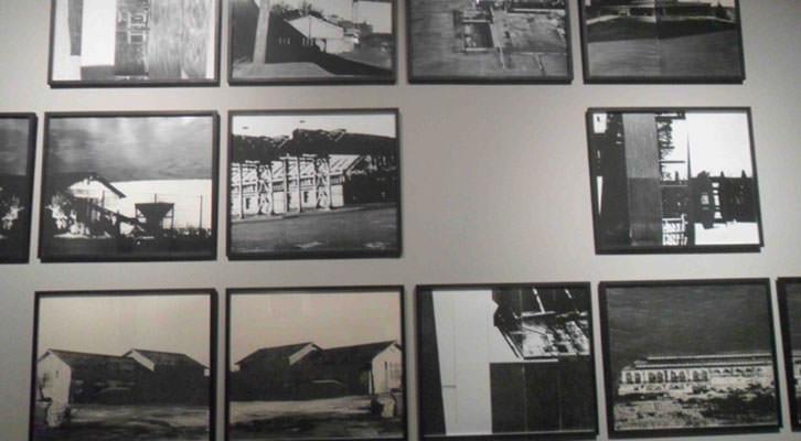 Obra de Antonio Alcaraz en la exposición Trazas. Centro del Carmen.