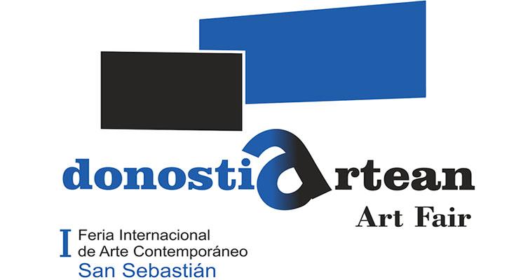 Logotipo de Donostiartean, Feria Internacional de Arte Contemporáneo de San Sebastián.