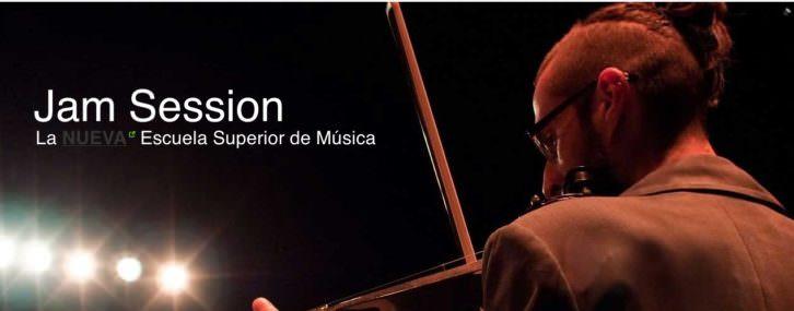 Imagen promocional del curso de rock que impartirá la Escuela Superior de Música Jam Session de Barcelona, extraída de su web.