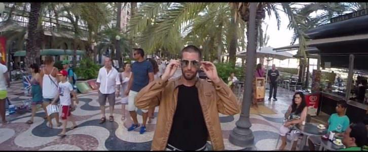 Imagen de uno de los videos promocinales realizados por Miguel Serrano, de EscaparateVisual, para 'Lo prohibido' de Russafa Escènica.
