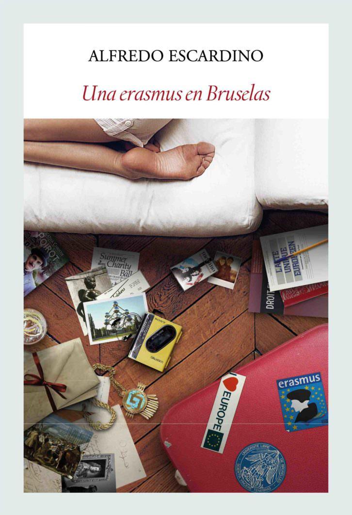 Portada de la novela 'Una erasmus en Bruselas', de Alfredo Escardino.
