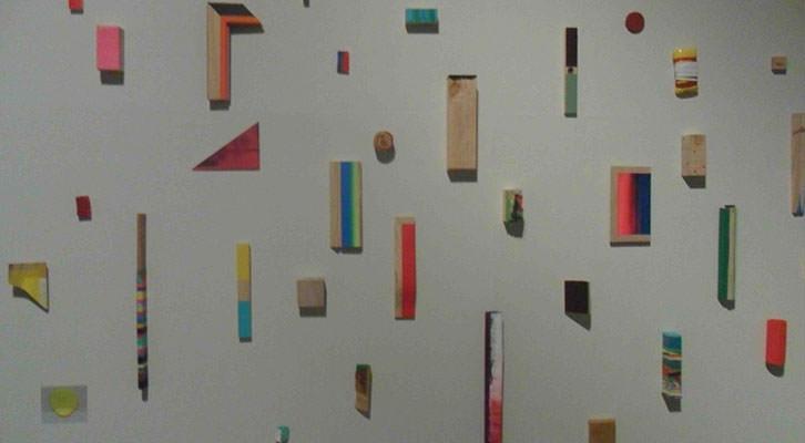 Obra de Luis Soriano en la exposición PAM! del Centro del Carmen.