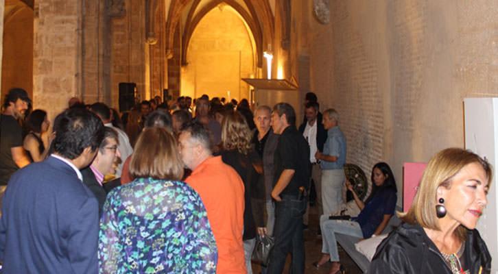 Ambiente durante la entrega de premios del Abierto Valencia en el Centro del Carmen. Imagen cortesía de la organización.