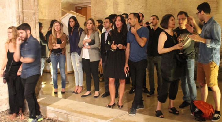 Ambiente de la entrega de premios de Abierto Valencia en el Centro del Carmen. Imagen cortesía de la organización.