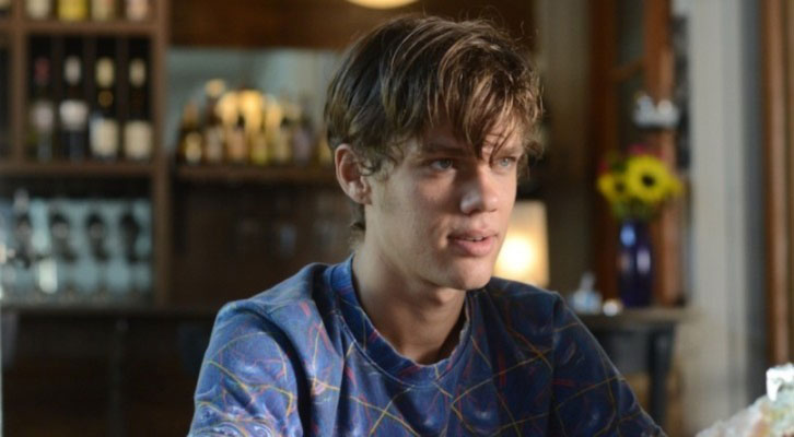 Ellar Coltrane, de adolescente, en la película 'Boyhood' de Richard Linklater.