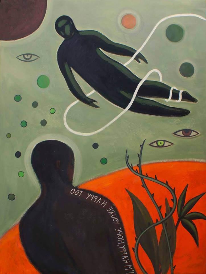 'Ashes to ashes' de Carmen García Gordillo para la exposición 'Lyrics and Visions'. Imagen cortesía de Espacio 40.