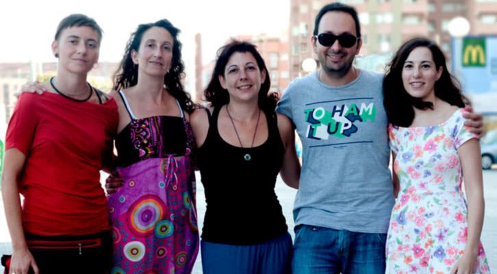 Miembros del equipo organizador de CREADOR.ES. Imagen cortesía de la organización.