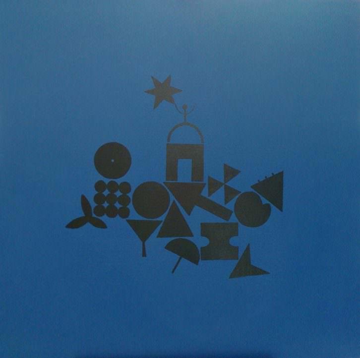 'Starman' de Cristina Navarro para la exposición 'Lyrics and Visions'. Imagen cortesía de Espacio 40.