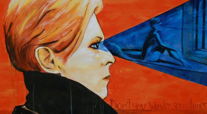 Obra de Doña Bárbara para la exposición 'Lyrics and Visions' que se exhibe en Espacio 40 y l'Arteria. Imagen cortesía de Espacio 40.