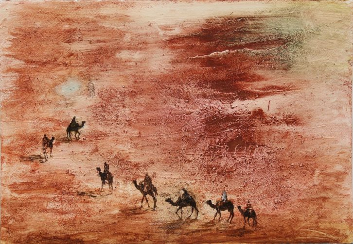 Obra de Iñaki Torres en la exposición de Lotelito. Imagen cortesía del autor.