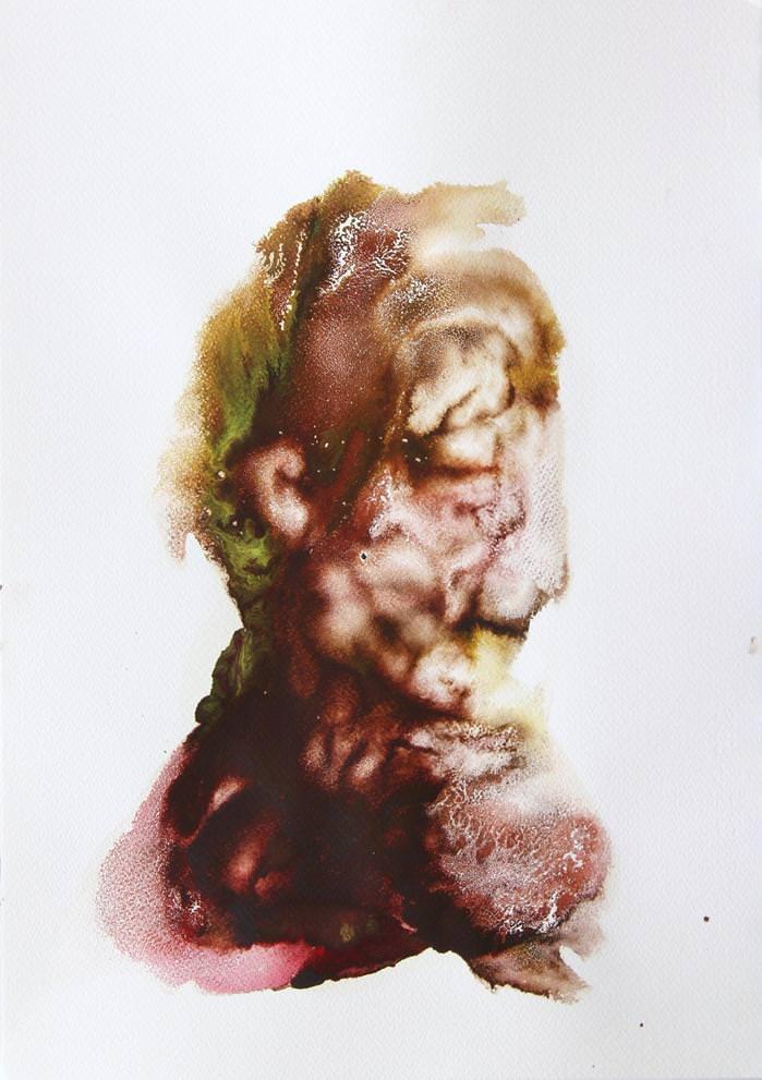 Obra de Iñaki Torres en la exposición 'Tanteando lo desconocido' en Lotelito. Imagen cortesía del autor.
