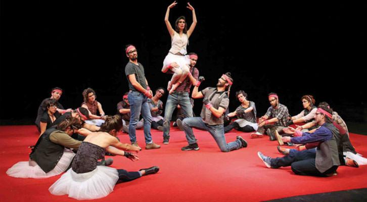 Cor de Teatre con su 'Operetta' en el MIM de Sueca. Foto: Sylvie Yeteryan.