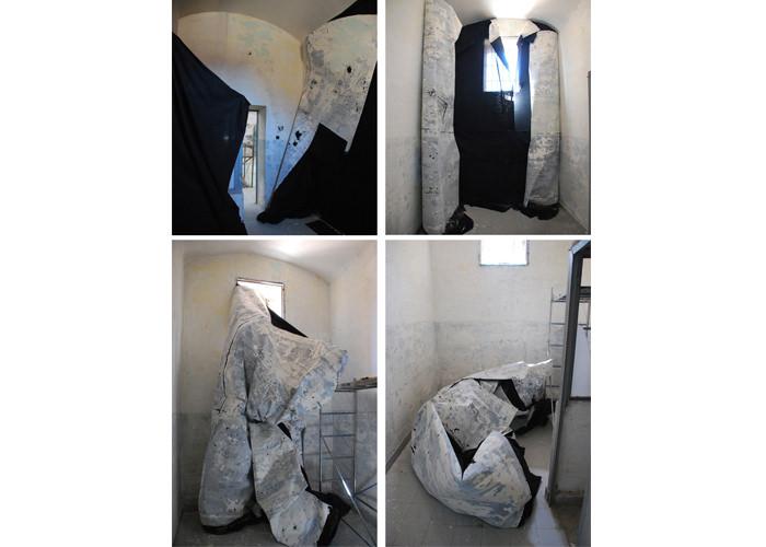 Proceso de trabajo en la extinta Cárcel Modelo de Valencia. Imagen cortesía de espaivisor.