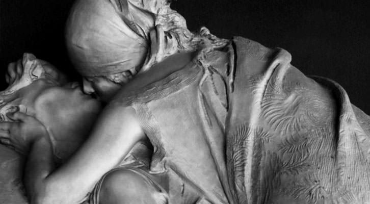 Detalle de una de las fotografías de Mario Pardo en la exposición 'Polvo serán, mas polvo enamorado'. Imagen cortesía del Palacio de los Condes de Gabia. Diputación de Granada.