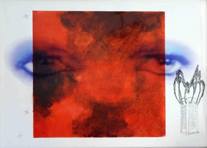 'Ziggy Stardust', de Ramón Espacio para la exposición 'Lyrics and Visions'. Imagen cortesía de Espacio 40.