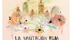 Cartel anunciador de Live the Roof, con la actuación de La Habitación Roja, en la azotea de Expo Hotel Valencia. Imagen cortesía de la organización.