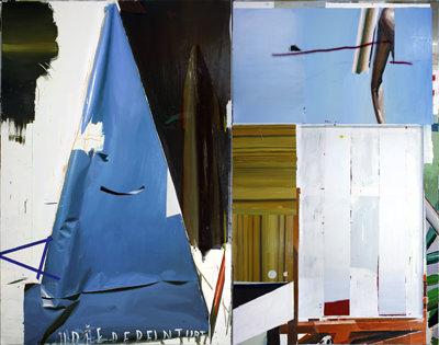 Obra de Rubén Guerrero en Luis Adelantado. Imagen cortesía de la galería.