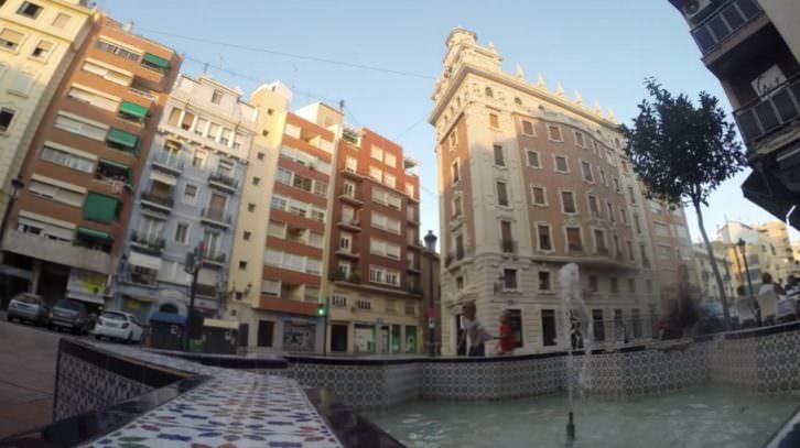Imagen del video de promoción del festival Russafa Escènica realizado por Escaparate Visual.