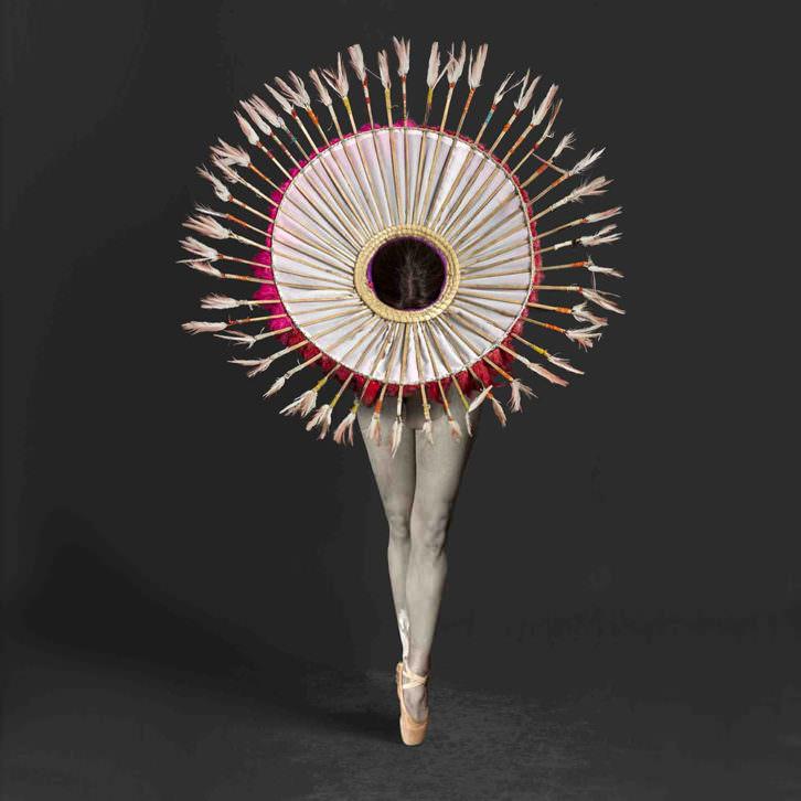 Obra de Isabel Muñoz, de su serie Mitologías. Imagen cortesía de Centro Niemeyer de Avilés.
